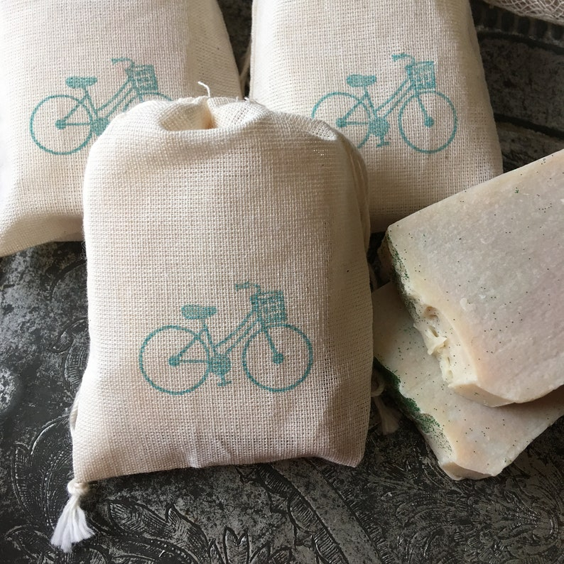 Bicycle Baby Shower Soap Favors Vintage Bicycle Favors Bicycle Theme Baby Shower