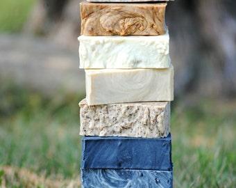Soap, Bulk Soap, 8 pack Soap, Stocking Stuffer, Gifts for Mom, Homemade Soap, Soaps, Homemade Soaps, Soap in Bulk, Exfoliating Soap