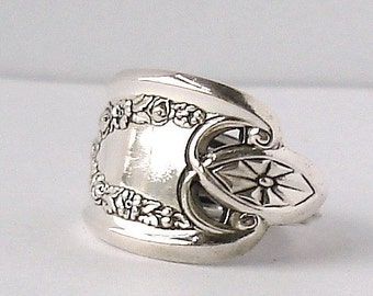 Spoon Ring, size 11, Old Colony 1911