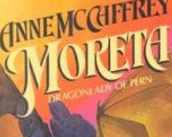 FIRST PRINTING Moreta: Dragonlady of Pern 1983 (Dragonriders of Pern, Vol. 7) by Anne McCaffrey (Hardcover)