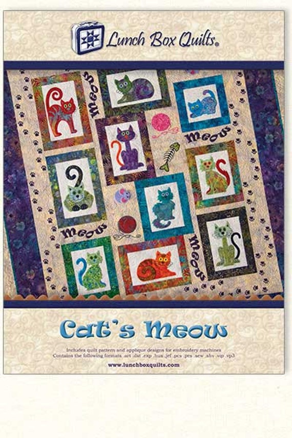 Lunch Box Quilts Cat's Meow