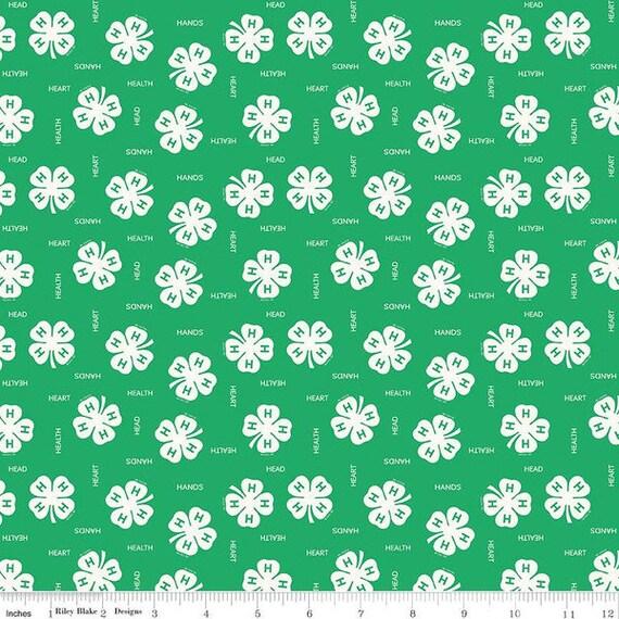 Riley Blake Designs 4-H fabric