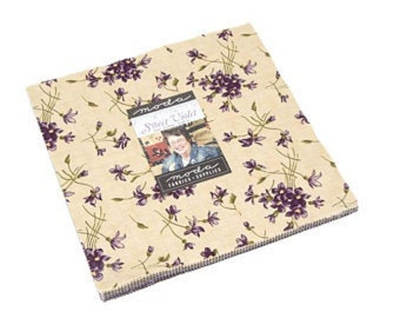 Sweet Violet Layer Cake 10 inch squares by Jan Patek Quilts for Moda Fabrics