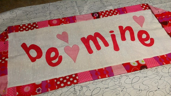 Valentine Runner Kit and Pattern