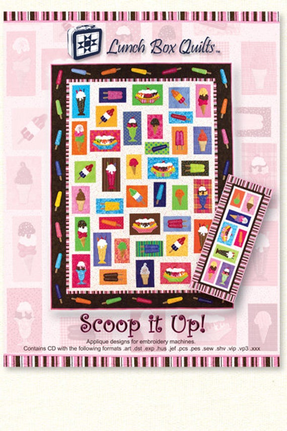 Lunch Box Quilts Scoop it Up