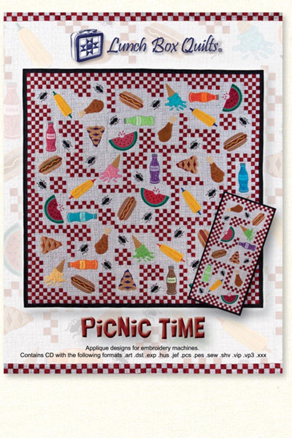 Lunch Box Quilts Picnic Time