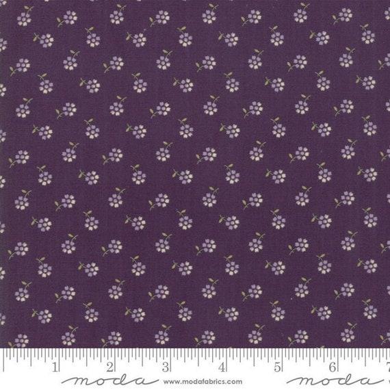 "Moda ""Sweet Violet"" Violet Small Dainty Floral Print by Jan Patek"