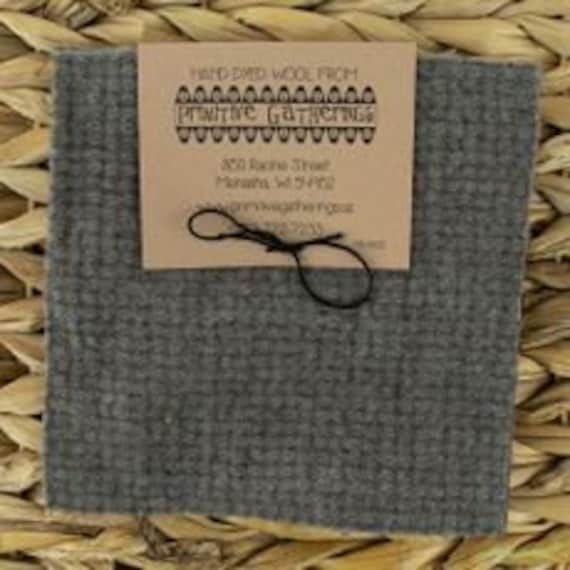 Moda wool charm pack cement from Primitive Gatherings