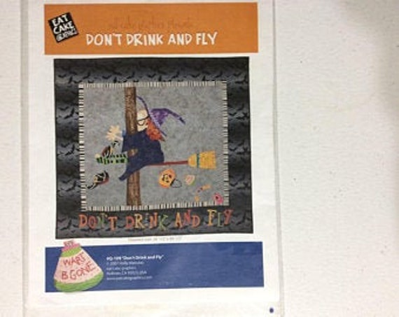 Don't drink and fly eat cake graphics