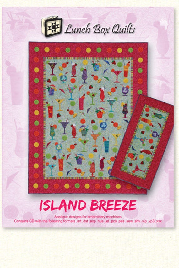 Lunch Box Quilts Island Breeze