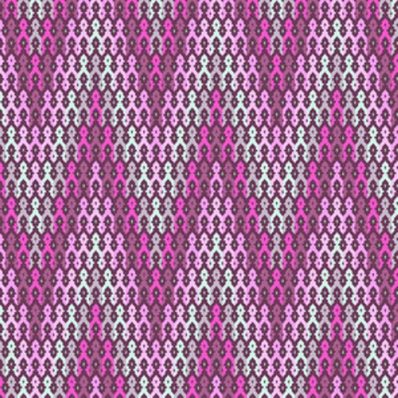 Free Spirit Fabric Tula Pink chipper- SALE  Rasberry
