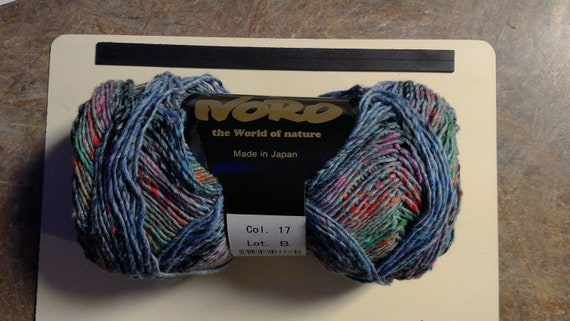 Noro Mirai Yarn Cotton & Silk - Color 17