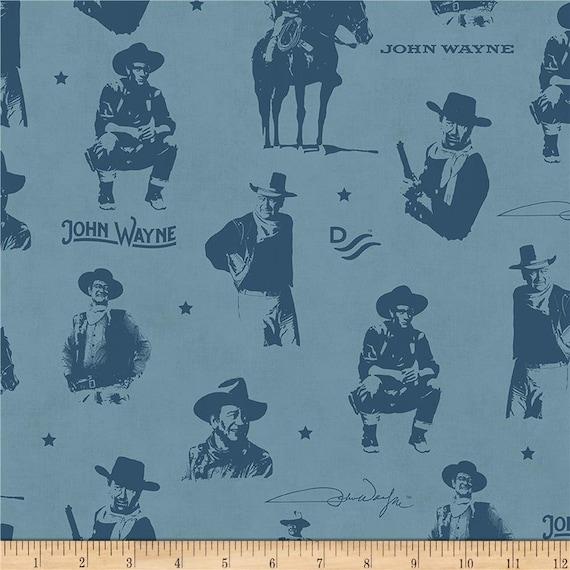 Riley Blake Designs John Wayne fabric