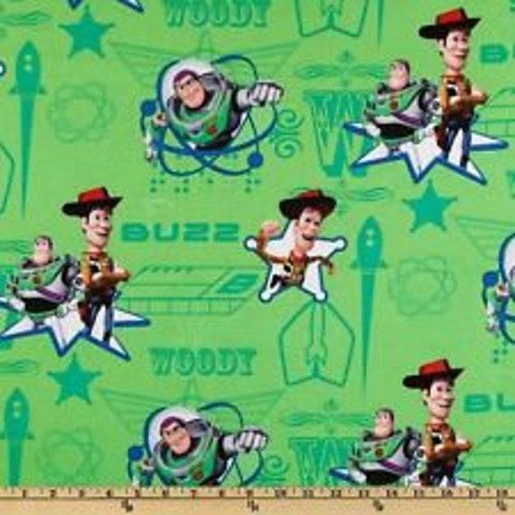 Disney Toy Story fabric last 2 yard piece!