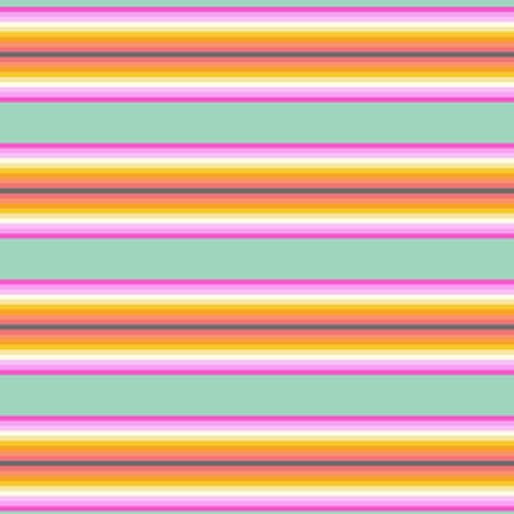 Free Spirit Tula Pink sorbet Tick tock Stripe