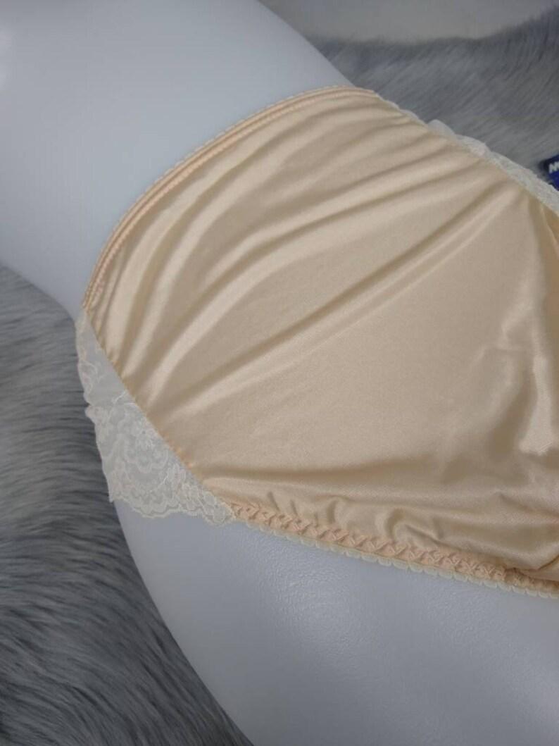 a91035e403ea Vintage 80s shimmery nylon bikini briefs lingerie size L 7 | Etsy