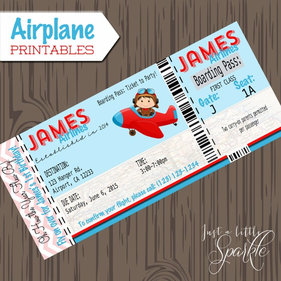 Pilot Invitations Cards