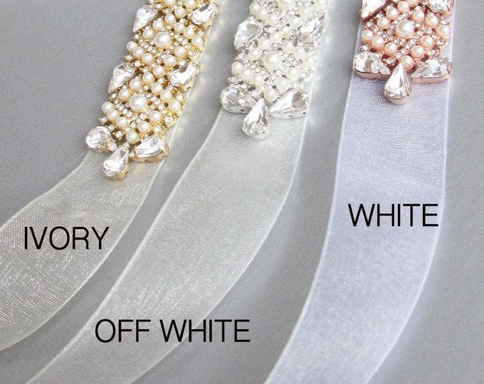 Organza ribbon swatches, Ribbon color samples, Sheer organza ribbon color samples