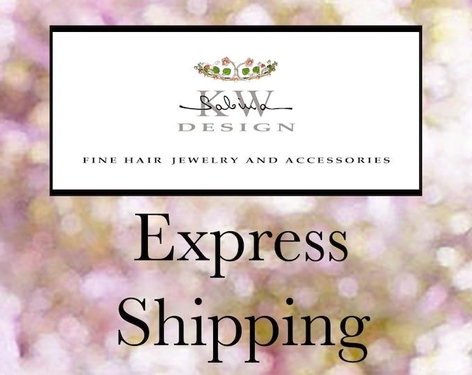 Custom order for Bianca - Express shipping upgrade