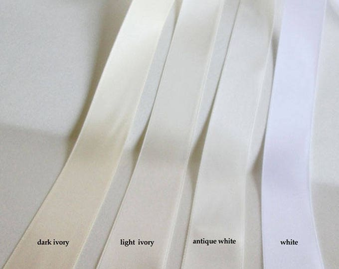 Satin ribbon swatches, Ribbon color samples, Double face satin ribbon color samples