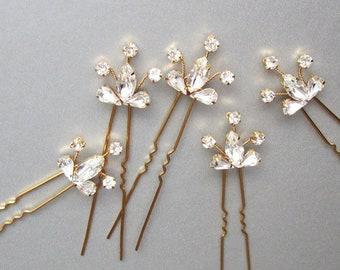 1b0ce90594eb3 Swarovski crystal hair pins