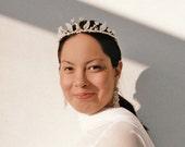 Cinderella  bridal glass tiara, Wedding tiara, Bridal crystal tiara, wedding crystal tiara