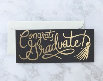 Grad Tassle Greeting Card