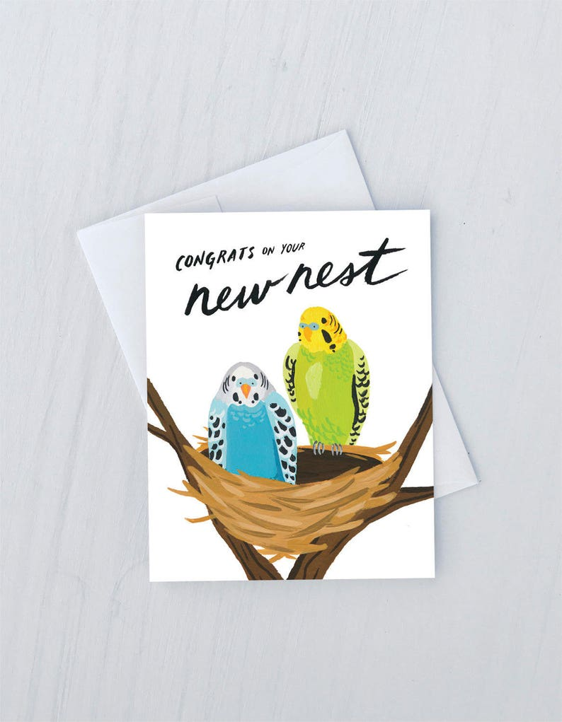New Nest Greeting Card