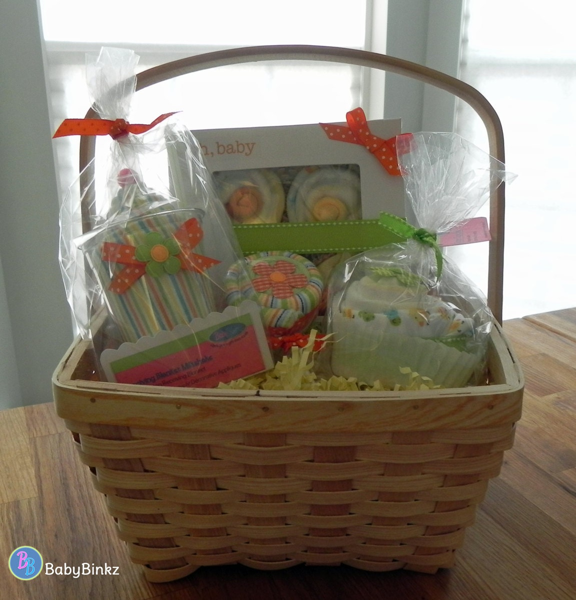 Unique Gift Basket Ideas: BabyBinkz Gift Basket Unique Baby Shower Gift Or