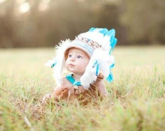Baby toddler Headband, Baby Costume, Children Feather Headband, Kids Costume