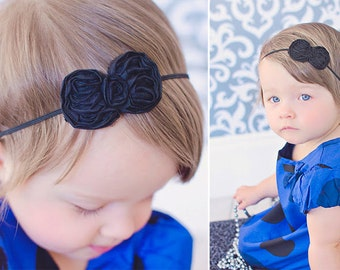 Newborn Headband, Baby Headband, Girls Headband, Small baby headband, Small Headband, Baby Headband - You pick the color