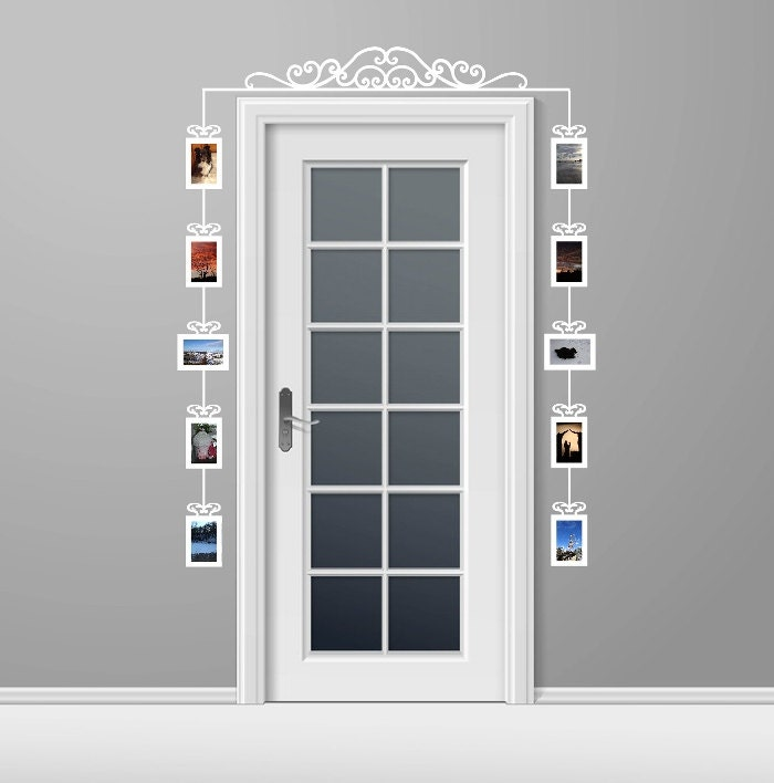 Frame Decals Vinyl Wall Decals Photo Frames Picture