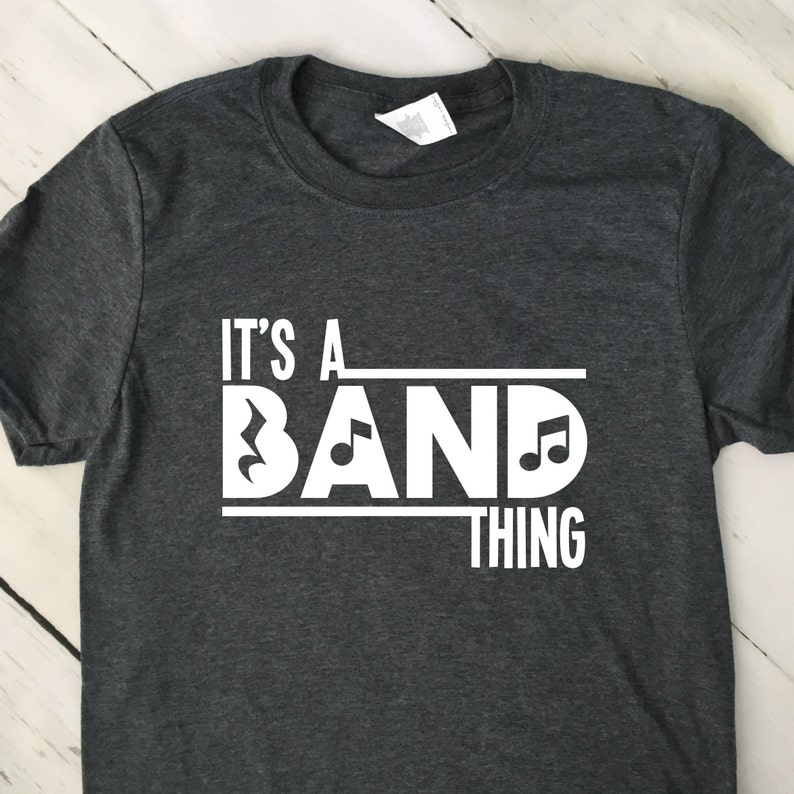 Marching Band T Shirt  Its A Band Thing T Shirt  Game Day  image 0