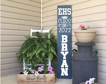 Senior Front Porch Sign | Class of 2022 | Custom Name Sign | Front Porch Decor | 22892