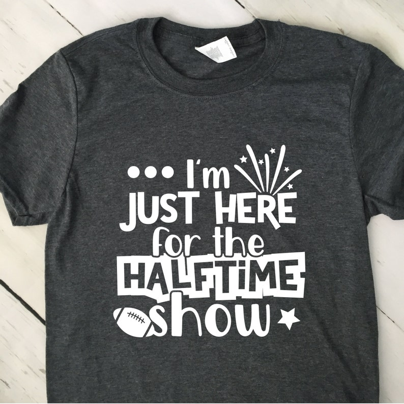 Marching Band T Shirt  Im Just Here For The Halftime Show T image 0