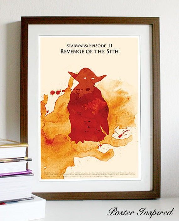 Star Wars Episode Iii Revenge Of The Sith Poster Print Etsy