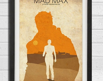 Mad Max Movie Poster Print