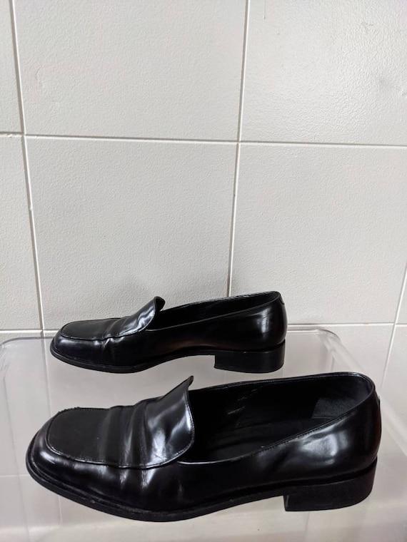 Ladies Size 9.5 1990s PRADA loafers - image 5
