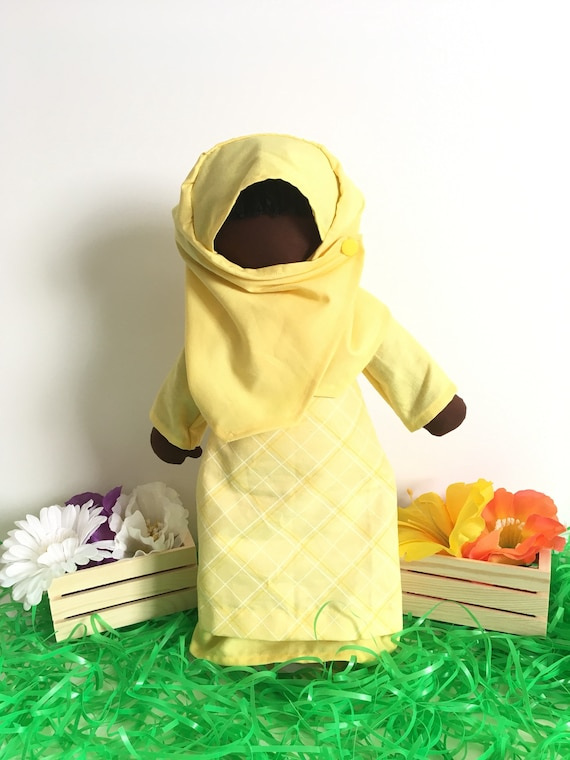 Lil' Muslimah in Yellow
