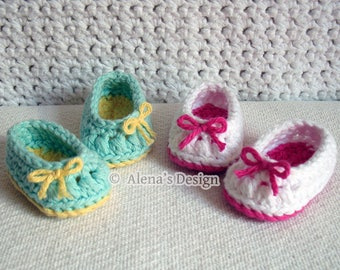 Crochet Pattern 136 Crochet Shoes Pattern 18 inch Doll Bow Slippers for American Doll Crochet Patterns My Life Christmas Gift for Girl