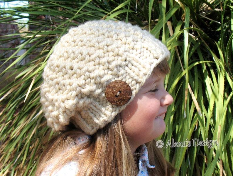 FREE Knitting Pattern 059 Knitting Hat Pattern Knitting Patterns ... 1425760ad45