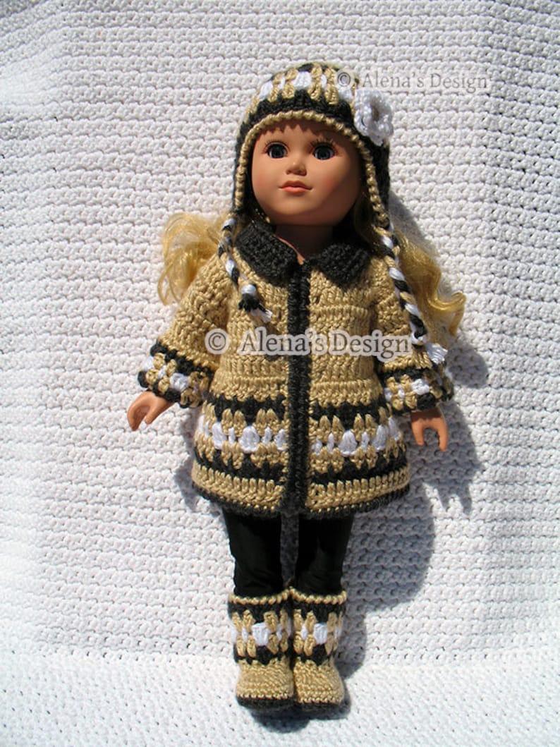 18 Inch Doll Clothes Crochet Patterns American Doll Crochet Etsy