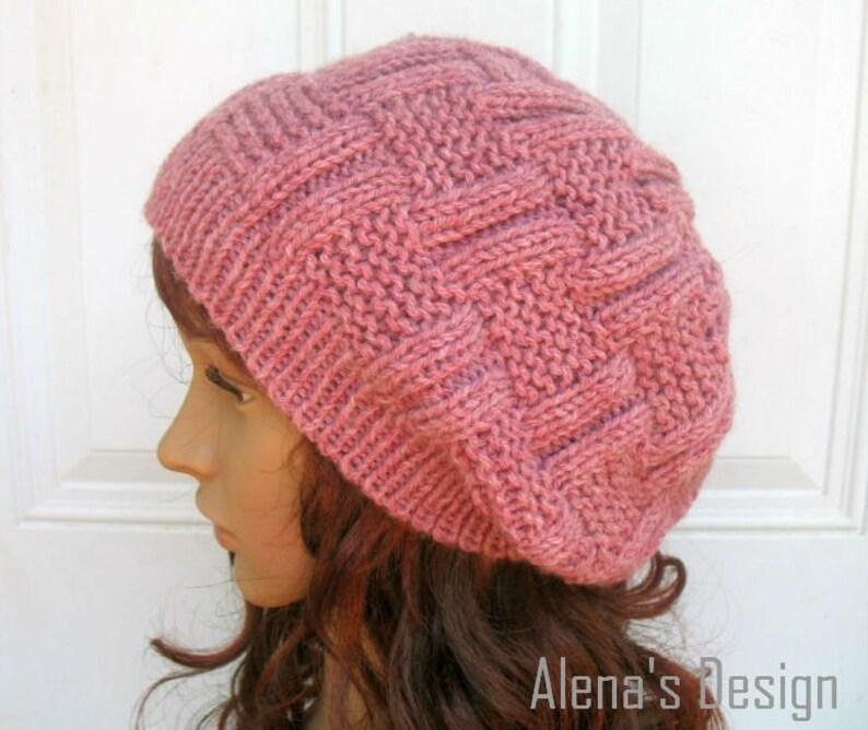 3b958acbe34 Knitting Hat Pattern 162 Danny Slouchy Hat Beanie Knitting