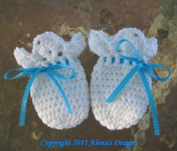 Crochet Pattern 044 Baby Thumb Less Lace Cuff Mittens Crochet Etsy