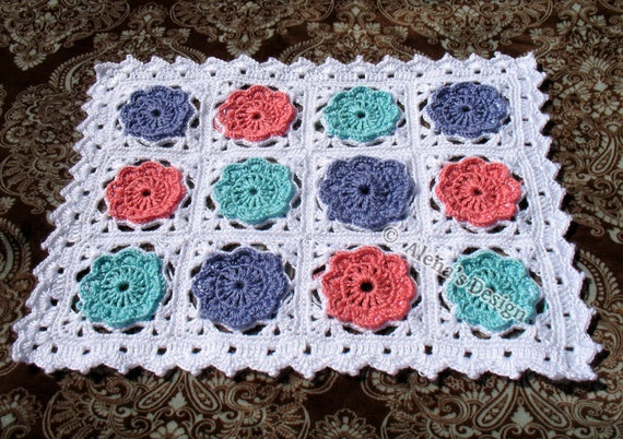 Crochet Pattern 160 Crochet Blanket Free Pattern In Two Sizes Doll