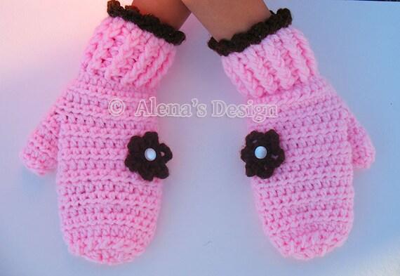 Crochet Pattern 116 Crochet Mitten Pattern For Etsy
