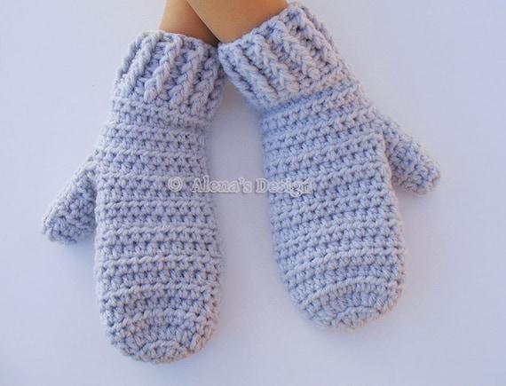Crochet Pattern 40 Crochet Mitten Pattern For Etsy Delectable Mitten Patterns