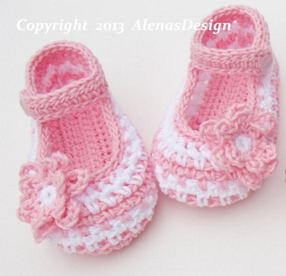 Crochet Booties Pattern 076 Crochet Baby Shoes Pattern Etsy