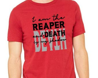 I am the Reaper Red Rising Shirt