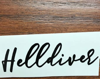 Helldiver Red Rising Decal Pierce Brown